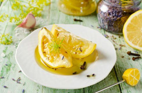 Limoni sottolio, perfetti per l'estate