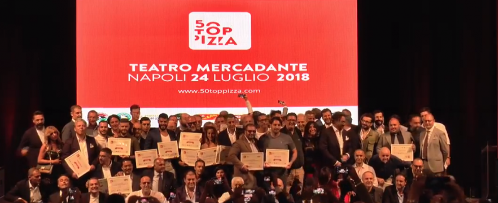 Le migliori pizzerie d'Italia per la classifica 50 Top Pizza 2018