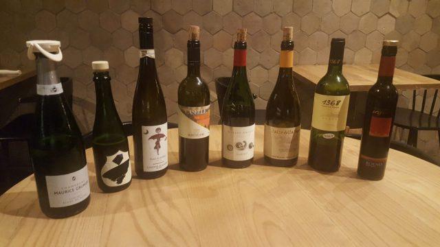 La selezione dei vini del nostro menu degustazione