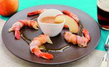 code-di-gamberi-al-lardo-con-salsa-di-miele-mele-e-birra-a1948-4