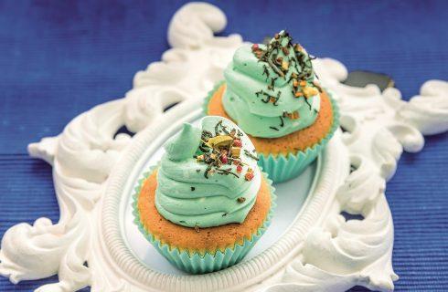 Cupcake al tè Kusmi, un dolce per l'ora del tè