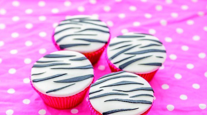 Cupcake zebrati, dolcetti deliziosi e belli