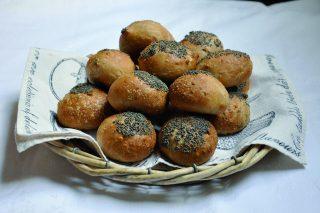 Panini alle noci con semi di papavero, con il bimby