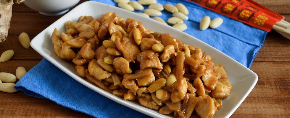 Pollo bambù e mandorle, tradizione asiatica