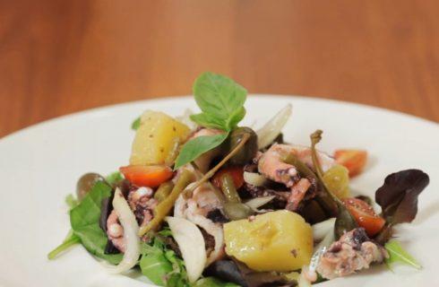 Polpo all'insalata: per l'estate