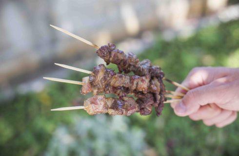 Arrosticini fatti in casa, tradizione abruzzese