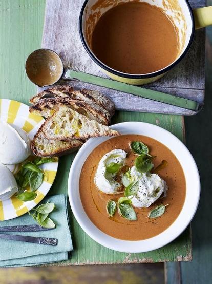 caprese-soup