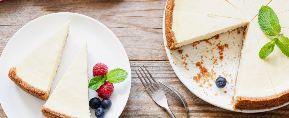 La ricetta della cheesecake leggera allo yogurt