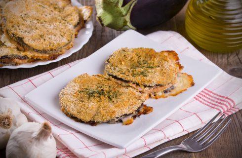 La ricetta delle cotolette di melanzane ripiene di mozzarella