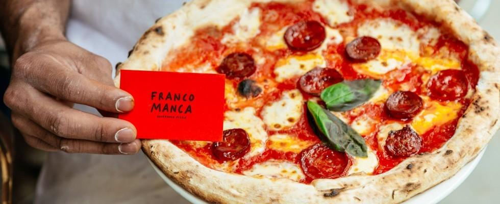 L'impero londinese delle pizze di Franco Manca arriva a Salina