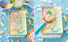 La ricetta del gelato rainbow