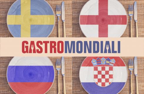 Gastromondiali di Agrodolce: i quarti tra Russia-Croazia e Svezia-Inghilterra