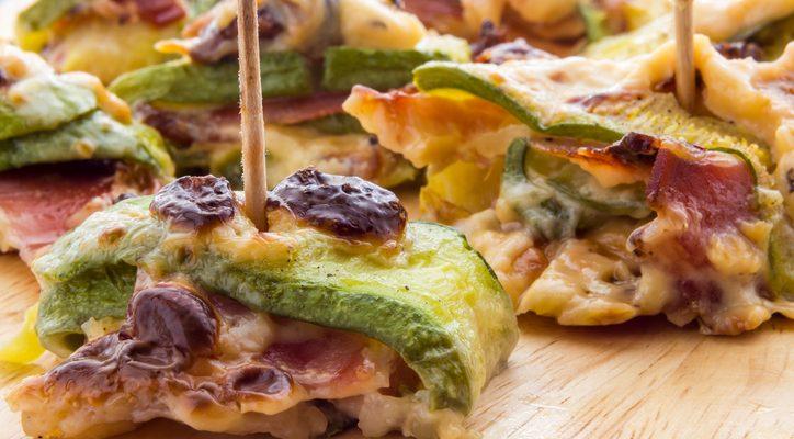 Involtini di zucchine speck e scamorza: la ricetta sfiziosa