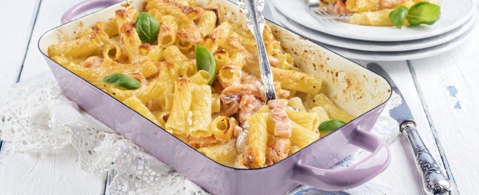 Pasta al forno al salmone: il piatto della domenica