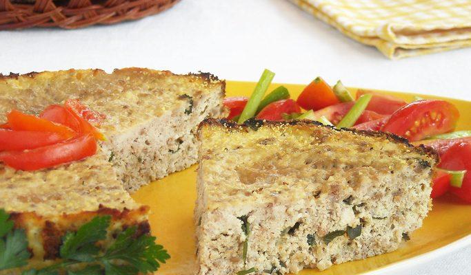La ricetta dello sformato di verdure al forno light