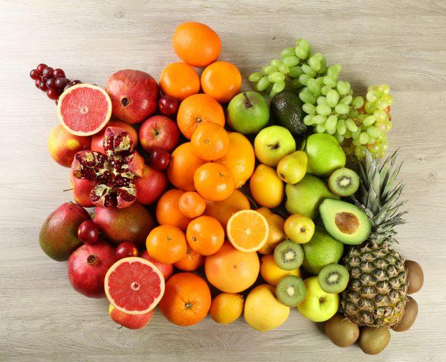 colori della frutta