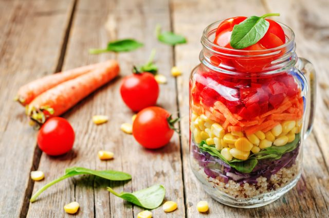 insalata arcobaleno