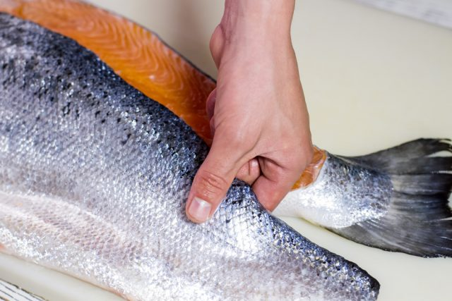 preparare il salmone
