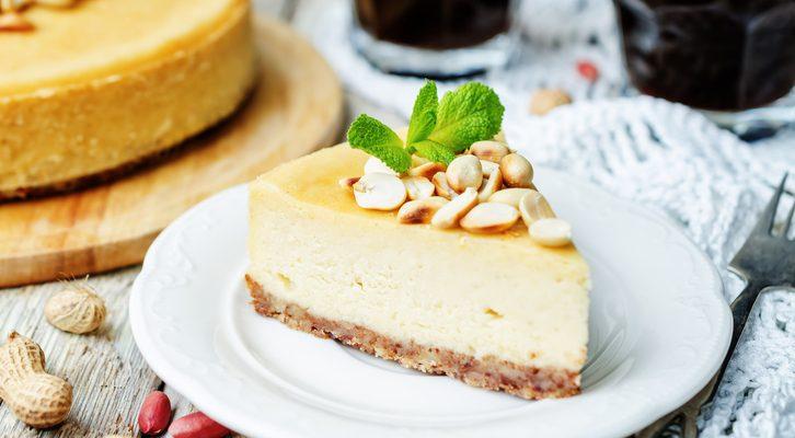 Torta fredda al burro di arachidi, la ricetta golosa