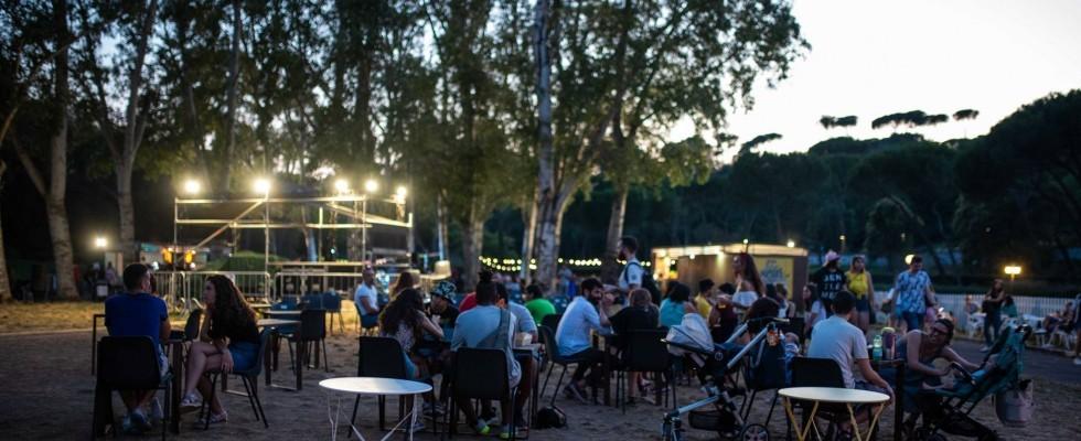 Non solo musica: a Villa Ada si mangia street food e si beve bio