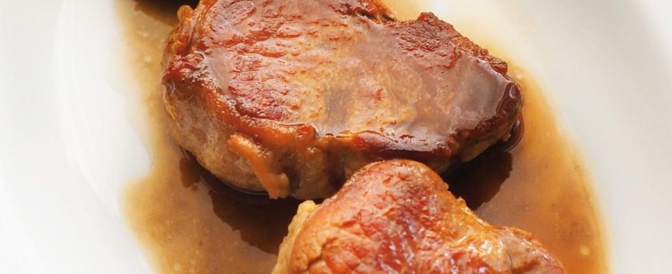 Filetto di maiale con aceto balsamico al bimby
