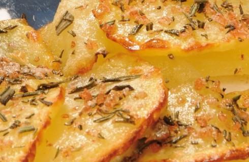 Filetto di orata in crosta di patate al bimby