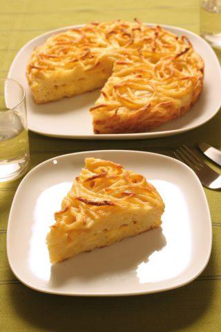 Frittata di pasta al Varoma al bimby