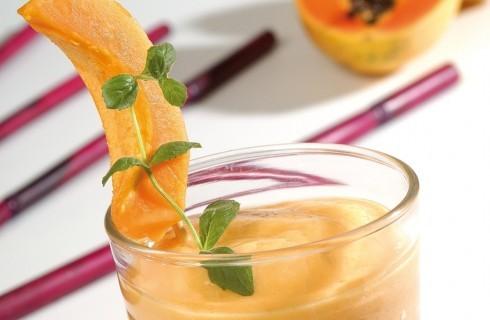 Frullato di papaia e mango al bimby