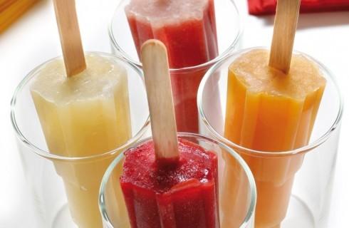 Ghiaccioli misti di frutta fresca al bimby