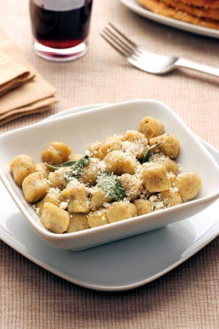 Gnocchi di grano saraceno con burro e salvia al bimby