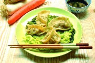 Ravioli cinesi di carne al vapore, con il bimby