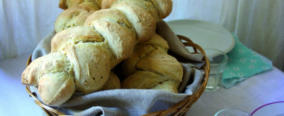 Spighe di pane piccanti, con il Bimby