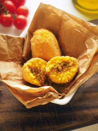 Arancini siciliani con ragù di carne al bimby