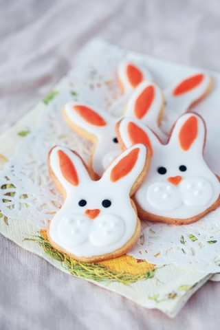 Biscotti a forma di coniglietto al bimby
