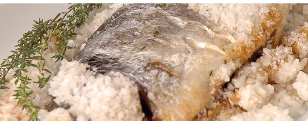 Branzino in crosta di sale al bimby