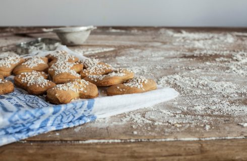 Calzette golose allo zenzero con granella di zucchero al bimby