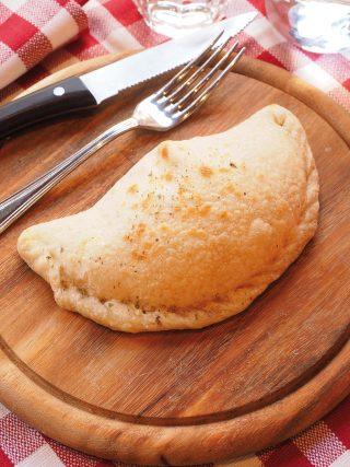 Calzone al forno con prosciutto e mozzarella al bimby
