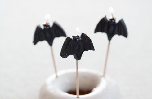 Ciambelle con pipistrelli al bimby