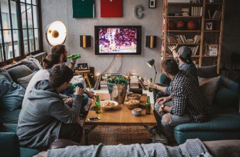 Cosa mangiare mentre si guarda una partita in tv