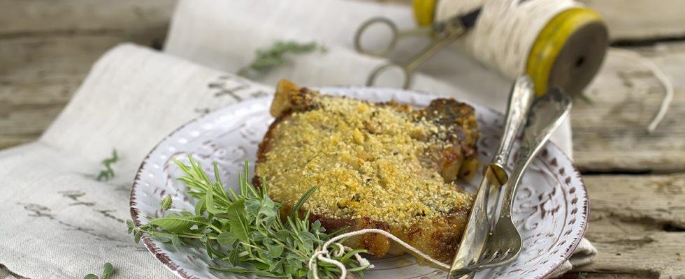 Cotolette di maiale in forno, secondo facile e gustoso