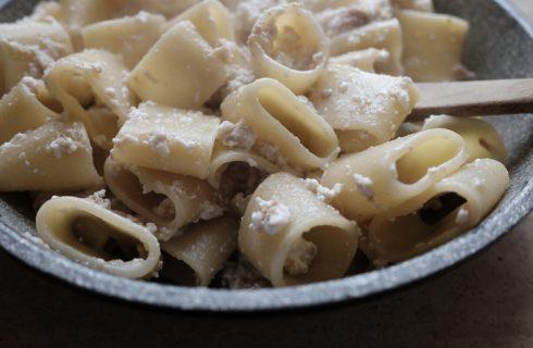 La crema salata di ricotta per condire la pasta