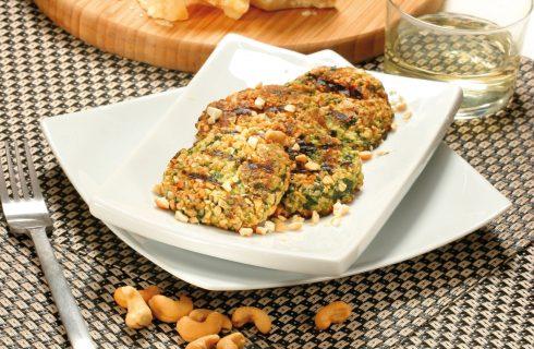 Crocchette con ricotta, spinaci e anacardi al bimby