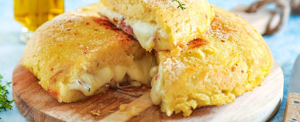 Gateau di patate in padella, tradizione campana