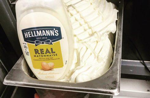 Il gelato dell'estate 2018? Alla maionese