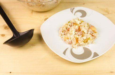 Come preparare un'insalata di riso dietetica e gustosa