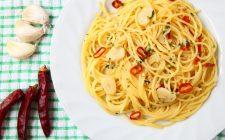 Un classico: aglio, olio e peperoncino