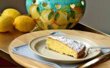 La torta caprese al limone con la ricetta della Prova del Cuoco
