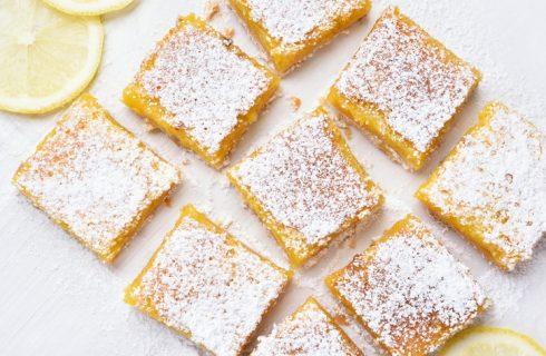 La ricetta della torta caprese al limone senza cioccolato