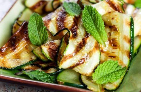 La ricetta della zucchine alla scapece non fritte