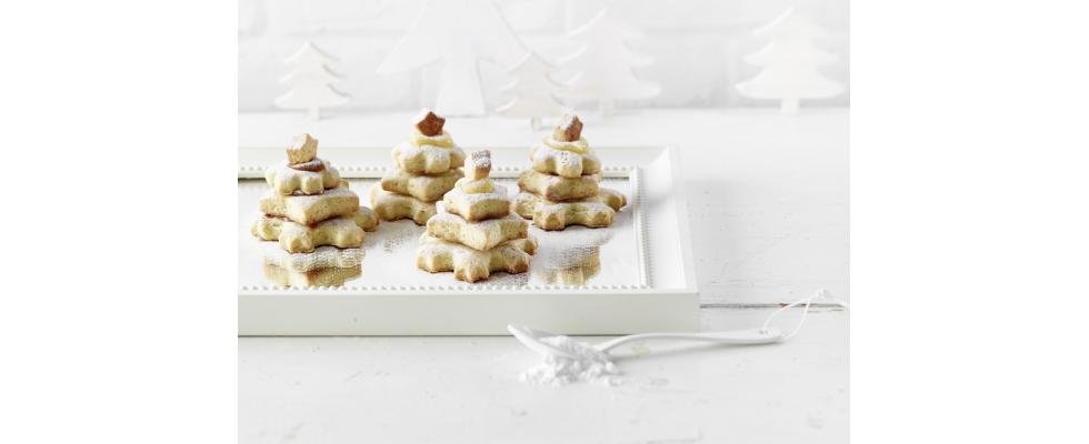 Biscotti ad albero di Natale al bimby